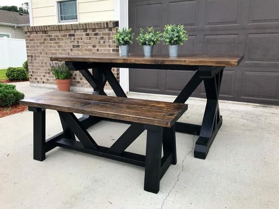 Excellent 6Ft Farmhouse Table Products In 2019 Modern Farmhouse Theyellowbook Wood Chair Design Ideas Theyellowbookinfo