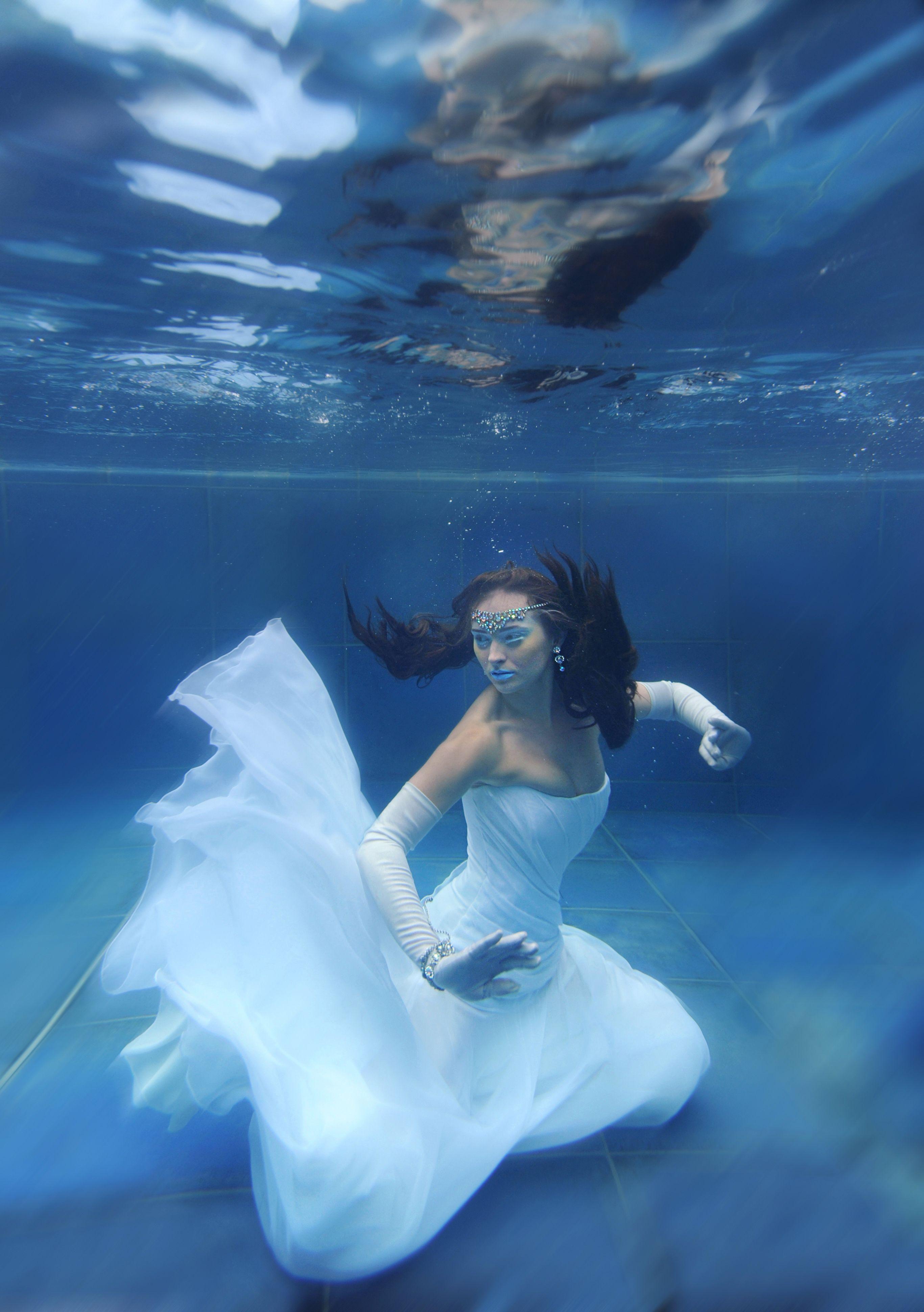 Underwater dress mermaid water