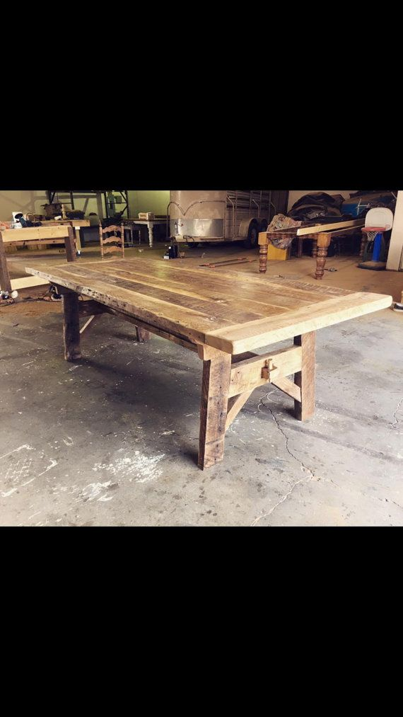 8 Foot Antique Oak Trestle By WellsWorksFurniture On Etsy