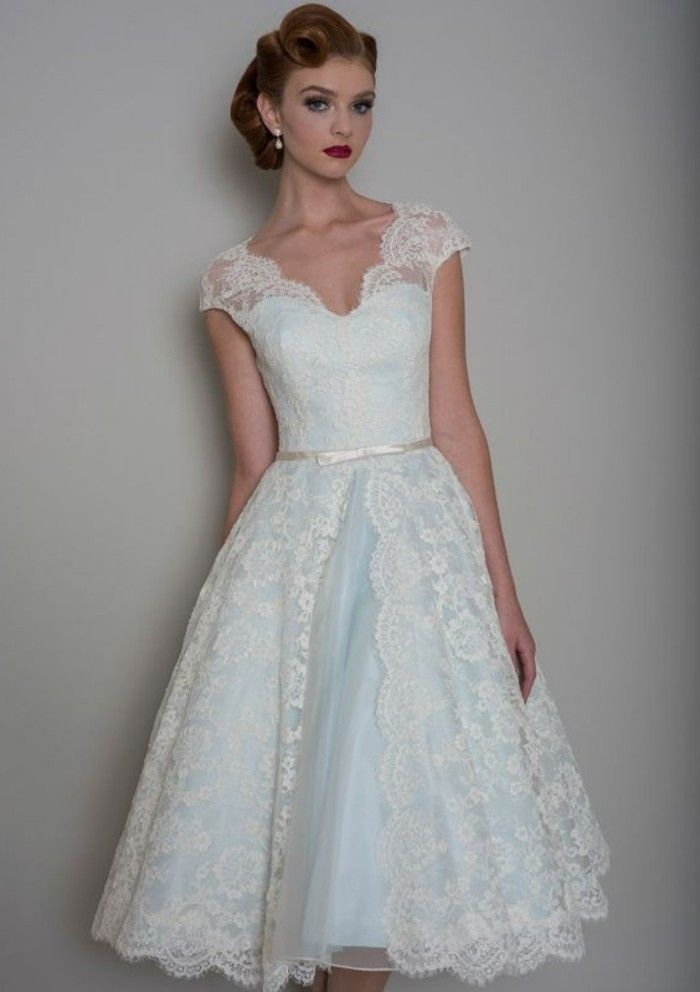 ▷ 1001+ ideas de vestidos de novia cortos y elegantes | moda