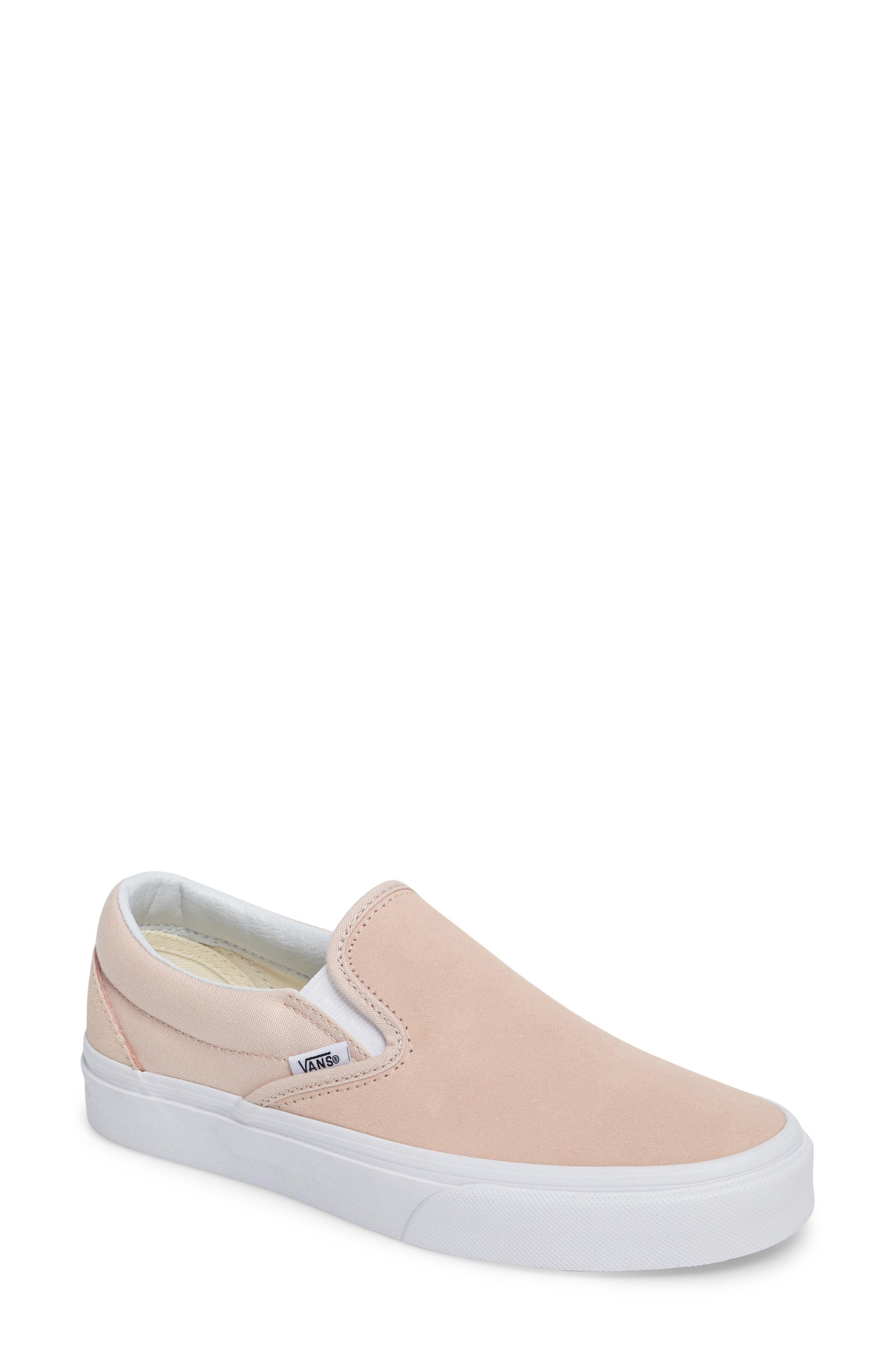 739ea3e1f19 vans rose suede classic slip-on sneaker