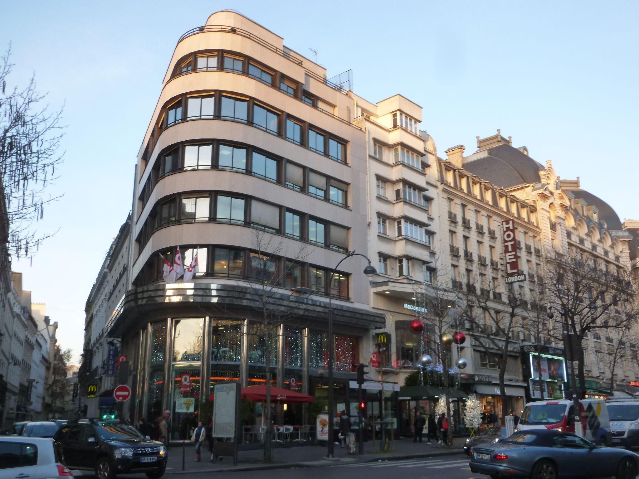 immeuble ford 1929 36 boulevard des italiens paris 75009 architecte michel roux spitz l. Black Bedroom Furniture Sets. Home Design Ideas