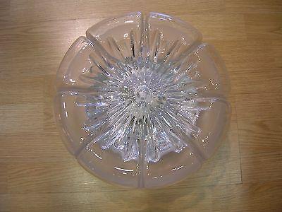Lampade In Vetro Anni 70 : Lampada fazzoletto made in italy anni bianco e marrone in plexi
