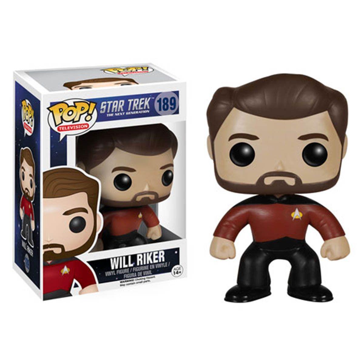 Star Trek The Next Generation Pop Will Riker Vinyl Figure