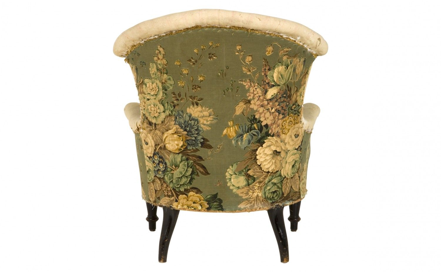 antique bergere chair (back) - Antique Bergere Chair (back) SPACE: Living Pinterest Upholstery