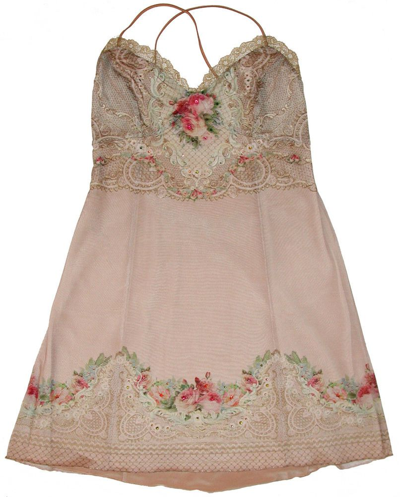 Michal negrin wedding dress  Michal Negrin Blush Victorian Roses Lace Crystals Dress  Michal