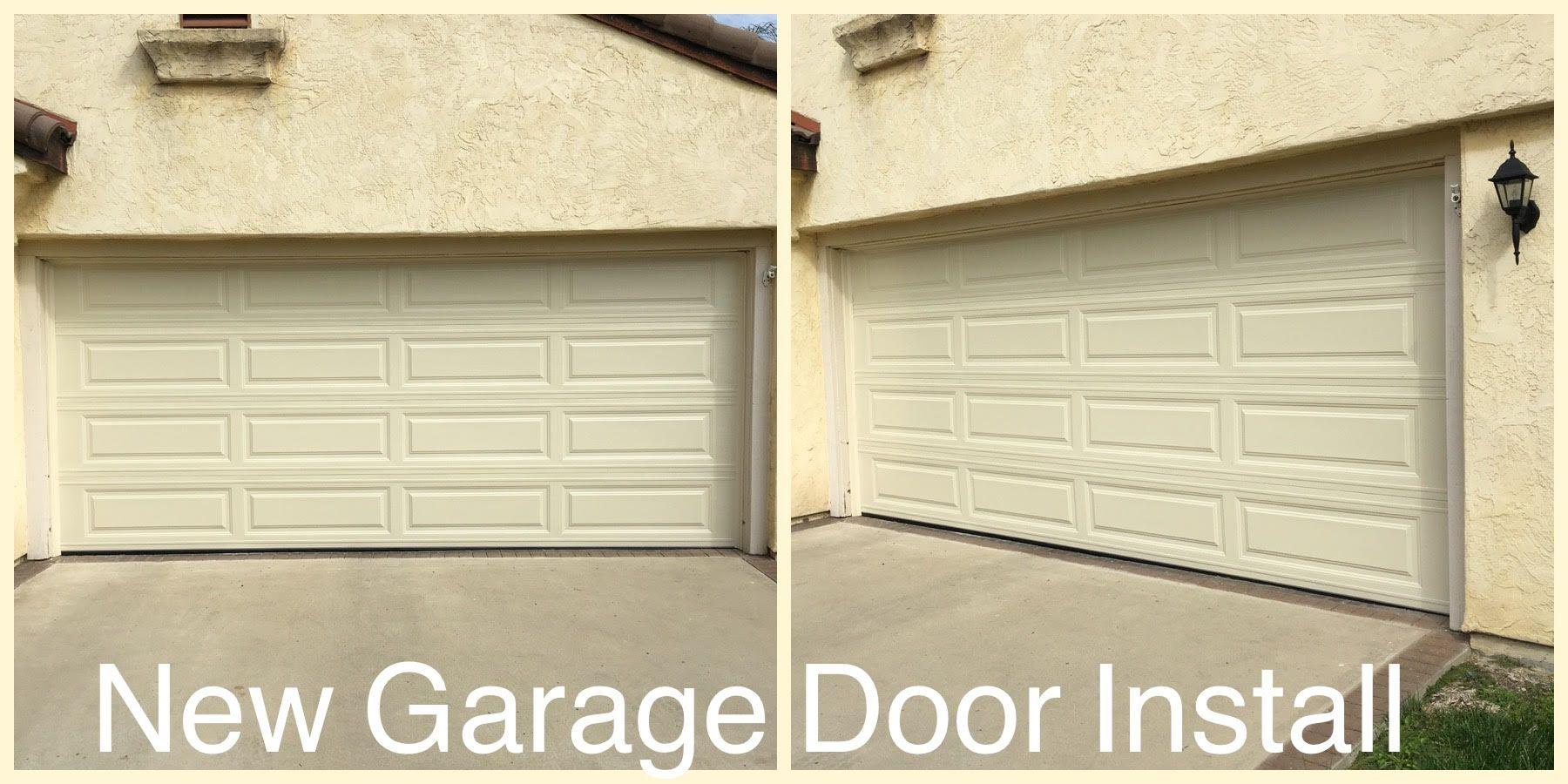 New Garage Door Installed In San Diego Ca Call Rockstar Garage