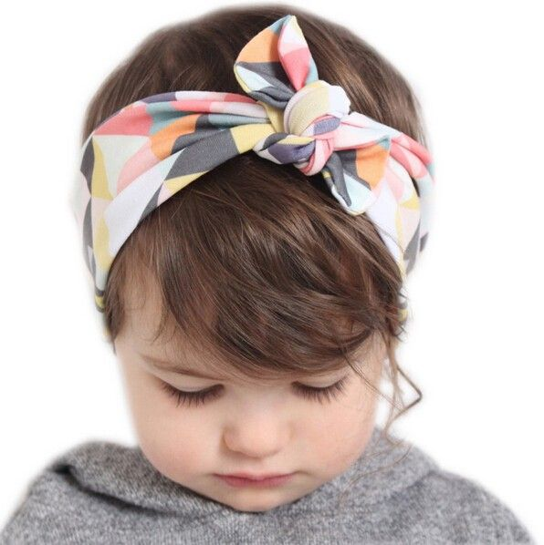 Lovely Baby Bunny Ear Headband Baby Hats 313130f4127