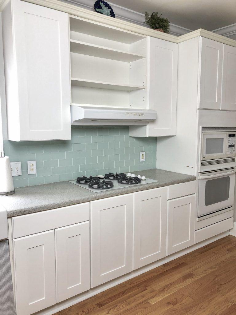 Easy Diy Kitchen Cabinet Reface For Under 200 Cribbs Style Diy Cabinet Refacing Refacing Kitchen Cabinets Kitchen Cabinets Home Depot