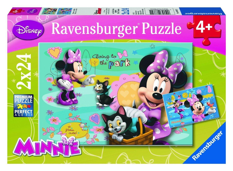 Ravensburger Puzzle - Disney Minnie Mouse (2X24pcs.) (08862)  Manufacturer: Ravensburger Enarxis Code: 015975 #toys #puzzle #Ravensburger #Disney #Minnie