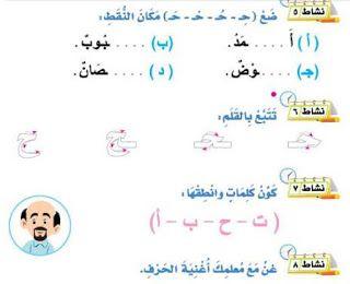 حرف الحاء تعليم Math Map Symbols