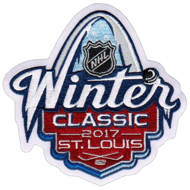 2017 Nhl Winter Classic Jersey Patch St Louis Blues Vs