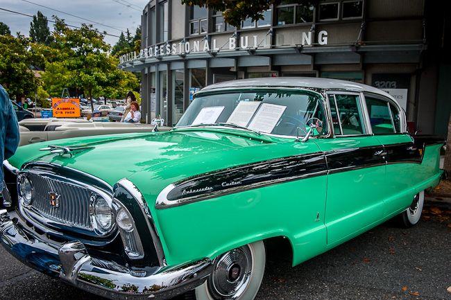 Nash Car: 1956 Nash Ambassador--the Nash Ambassador Was The Official