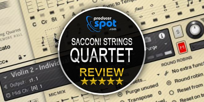 Review: Sacconi Strings Quartet by Spitfire Audio | Music Production