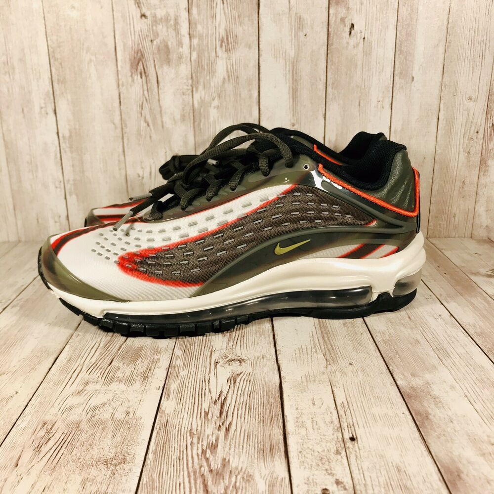 pretty nice f0954 9a230 Nike Air Max Deluxe Sequoia Youth 6y Womens Size 7.5 Green Orange - Nike  Airs (