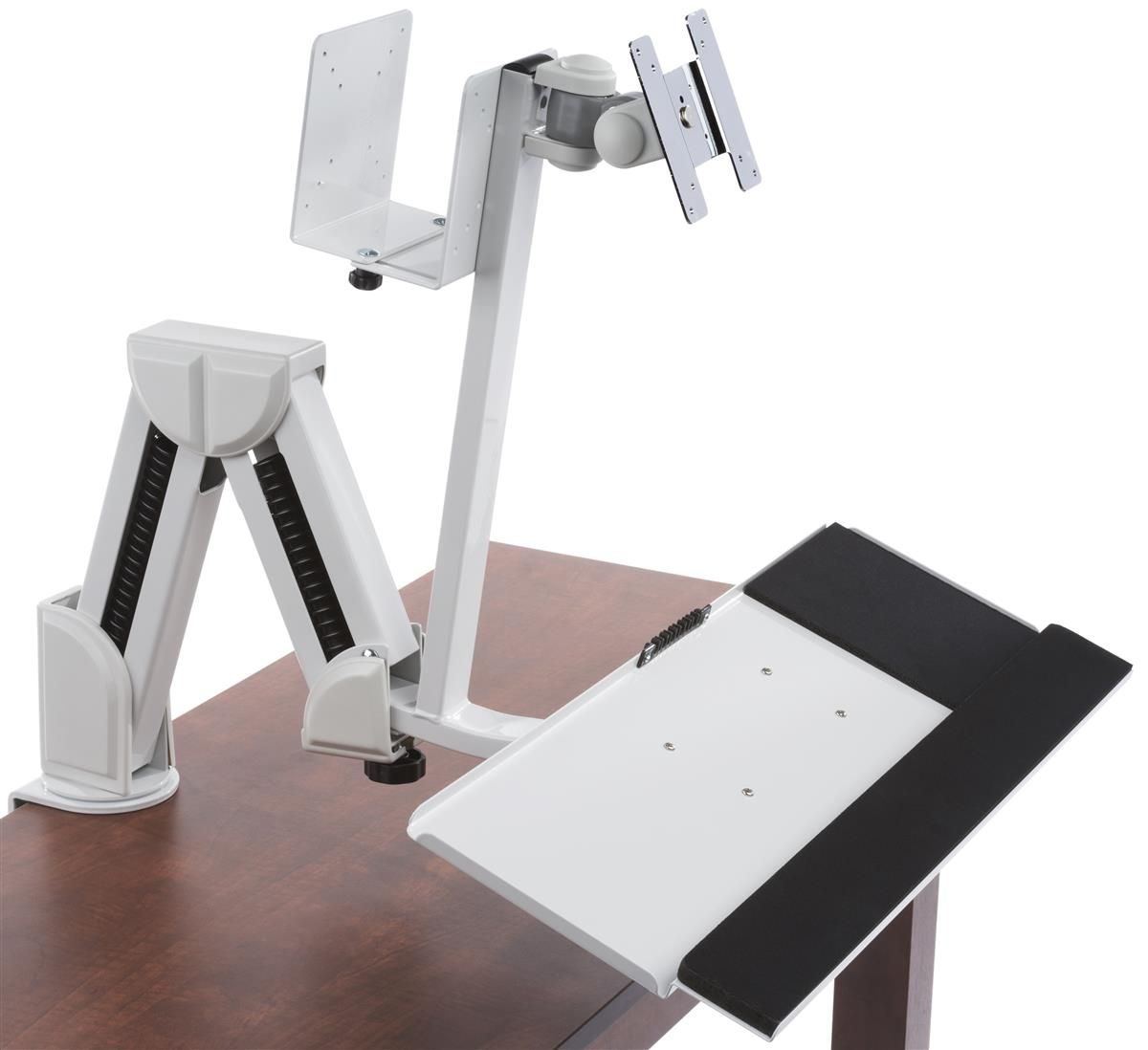 Description of workrite willow monitor arm willow is specifically - Workstation For Wall Or Counter Fits 14 27 Monitors Cpu