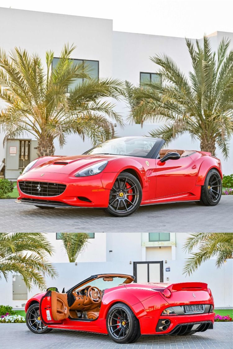 Low and Behold the Ferrari California. The California is