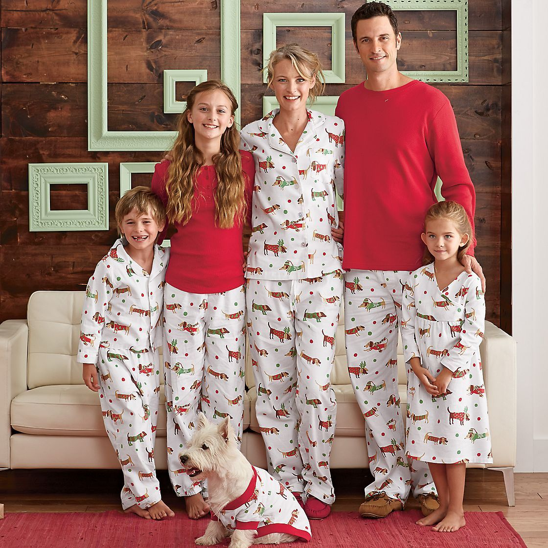 Our Festive Plaid Flannel Matching Family Pajamas