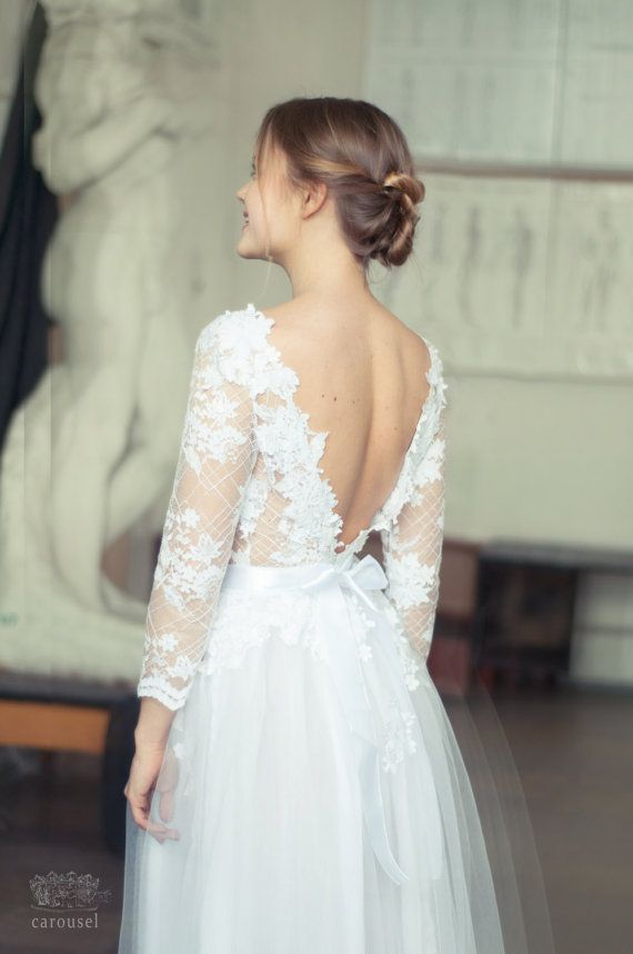 Wedding Dress Charline By Carouselfashion On Etsy