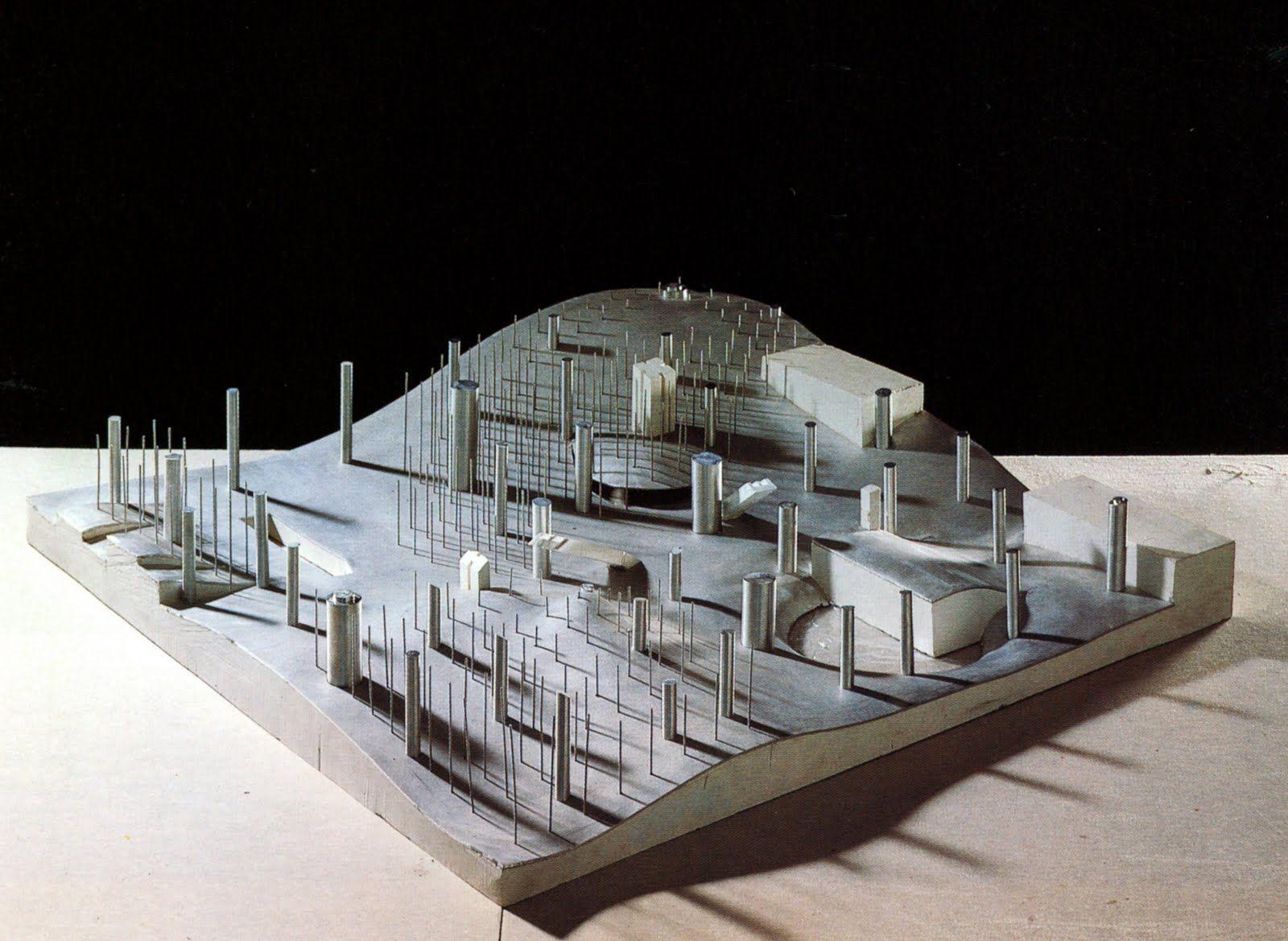Koolhaas ,Centro de Convenciones en Agadir, 1990
