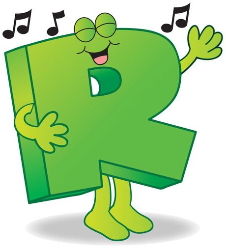This simple song guides little ones in forming the letter r