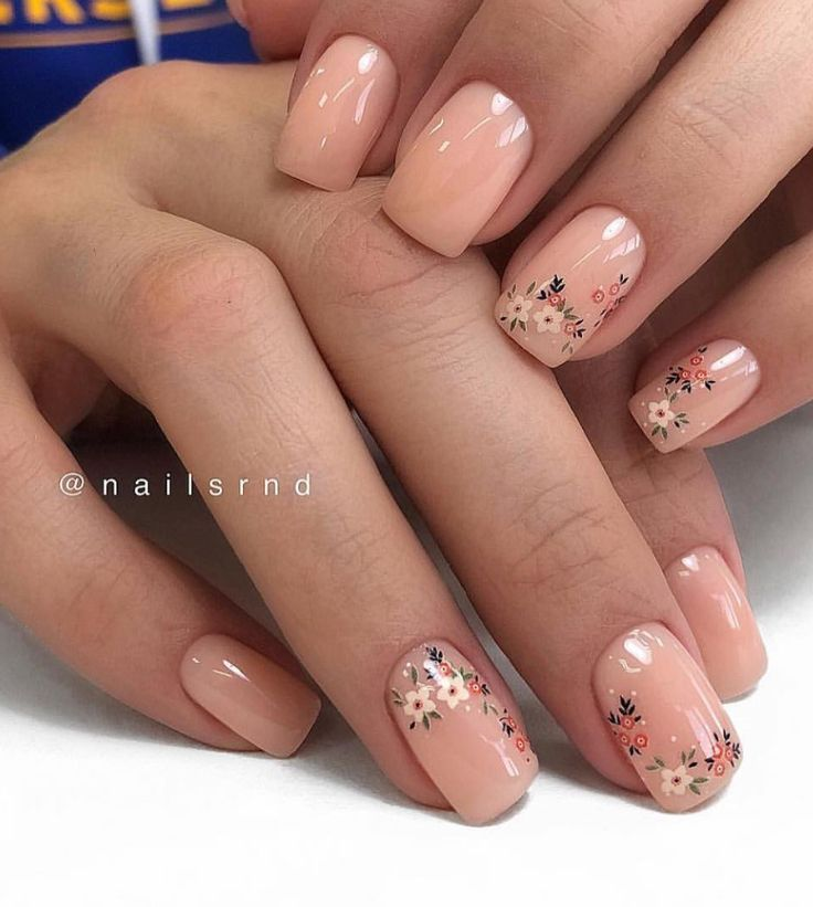 58 Chic Natural Gel Short Sargnägel Farbideen für Sommernägel    – Nails Art …