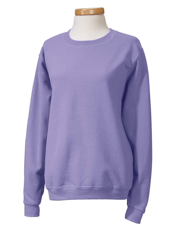 Gildan Womens Heavy Blend Fleece Crewneck Sweatshirt G180fl Active Wear For Women Sweatshirts Clothes [ 1500 x 1200 Pixel ]