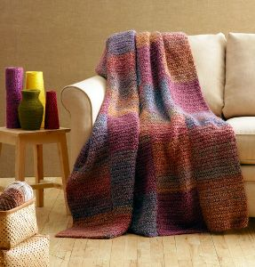 Free Knitting Patterns For Blankets And Throws For Beginners : Crochet - Beginner Afghans, Blankets and Throws on Pinterest Afghans, Afgha...