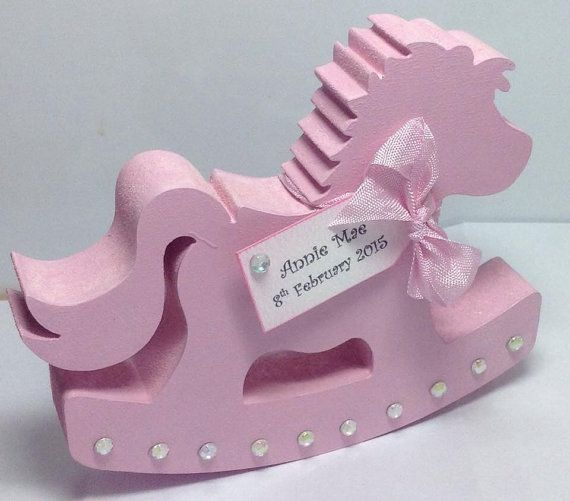 Personalised new baby gift rocking horse with personalised tag personalised new baby gift rocking horse with personalised tag makes a beautiful new baby gift by louisescardsandgifts on etsy negle Gallery