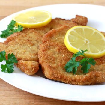 how to cook pork schnitzel in oven
