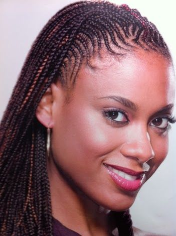 Cornrows With Extensions African Braids Hairstyles