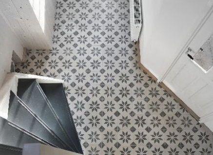 20 inspirations pour des carreaux de ciment inspiration - Sol vinyle carreau de ciment ...