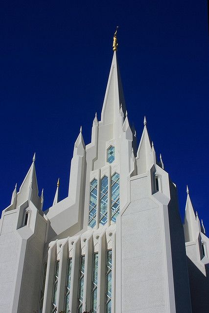 The Mormon Temple of San Diego, California by silkway