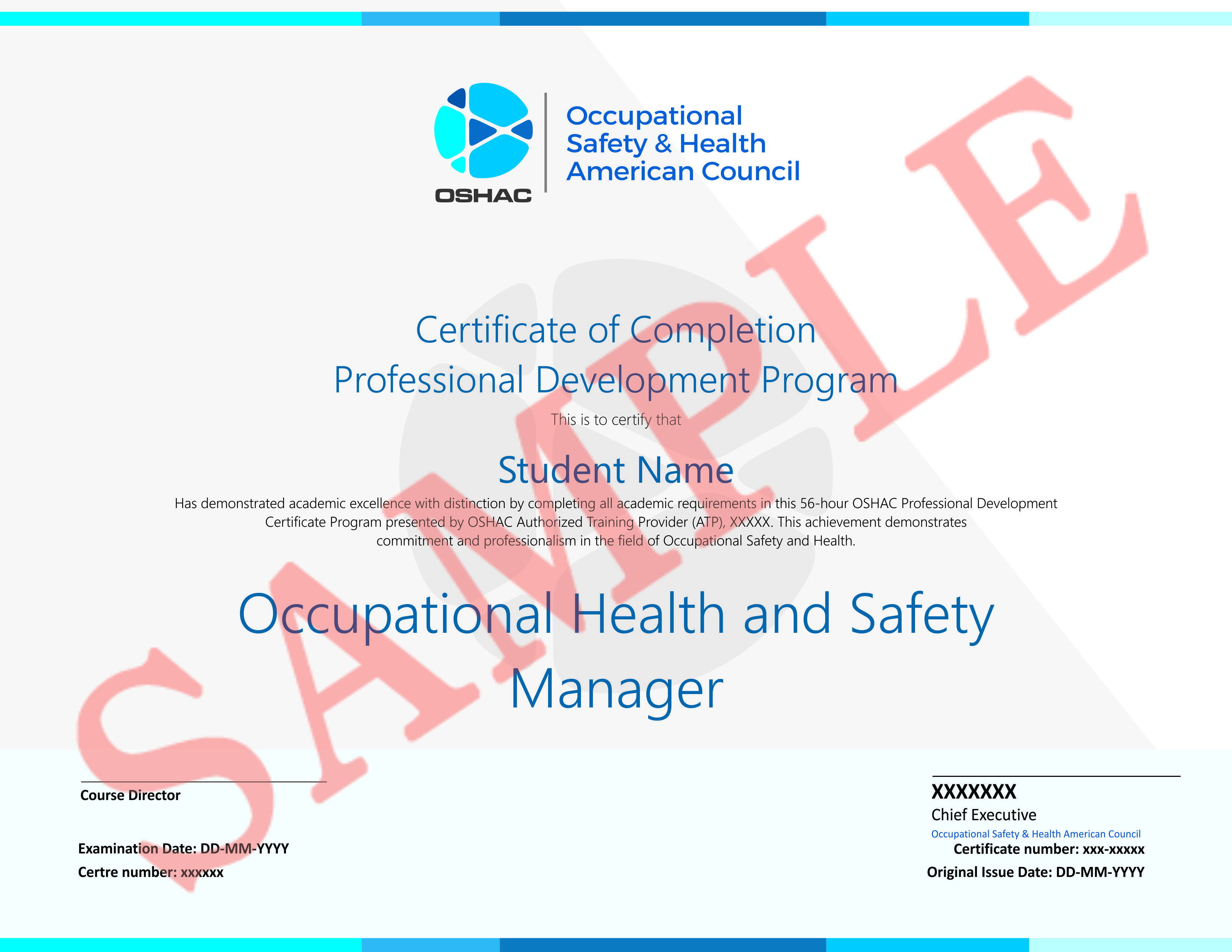 Companies hire occupational safety and health managers to