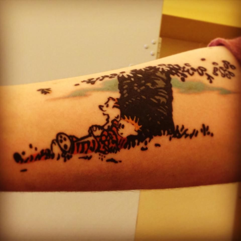 I Suppose It Will All Make Sense When We Grow Up Calvin And Hobbes Cool Tattoos Tattoos Calvin And Hobbes Tattoo