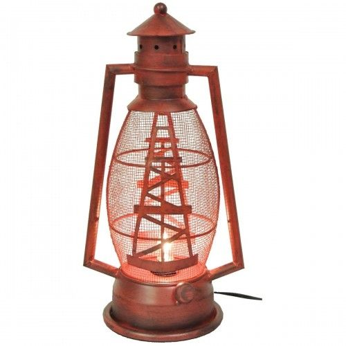 Metal Oil Derrick Lantern Light | Lights and Lamps | Pinterest ...