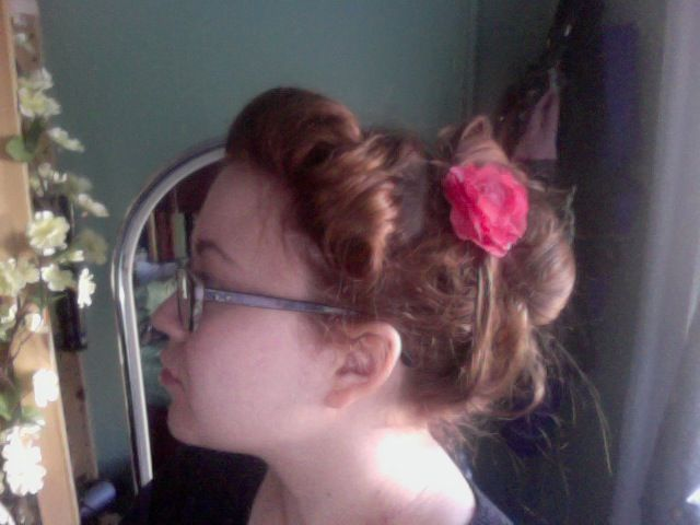My Attempt At Gibson Girl Hairusing The Tutorial Here Httpwww - Gibson girl hairstyle youtube