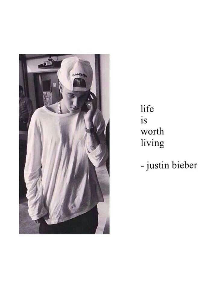 Life Is Worth Living For Justin Bieber Bizzle Justin Bieber