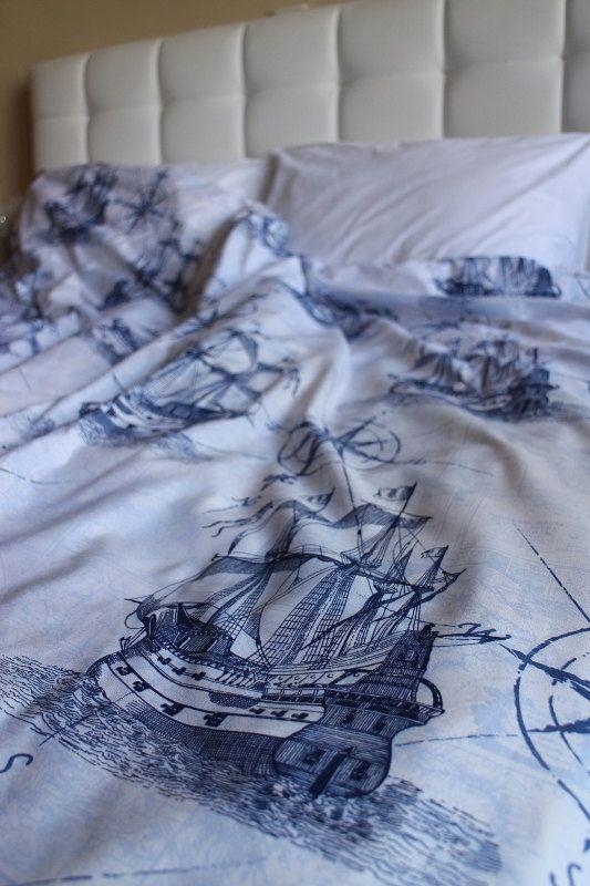 Twin Twin Xl Duvet Cover Battleship And Compass By Shoppingfest 60 00 Blue Duvet Cover Twin Xl Duvet Covers Queen Duvet Covers