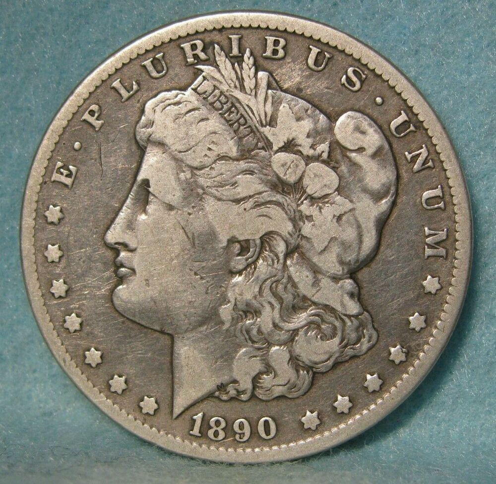 1890 Cc Carson City Mint Morgan Silver Dollar Fine Vf United States Coin Coins Silver Dollar Rare Coins Worth Money