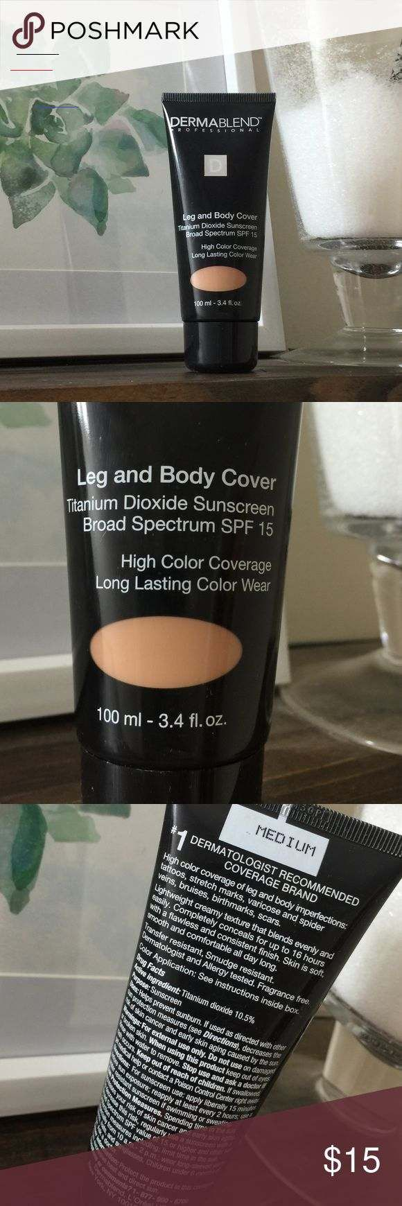 Dermablend Makeup Leg & Body Cover Medium Dermablend Leg