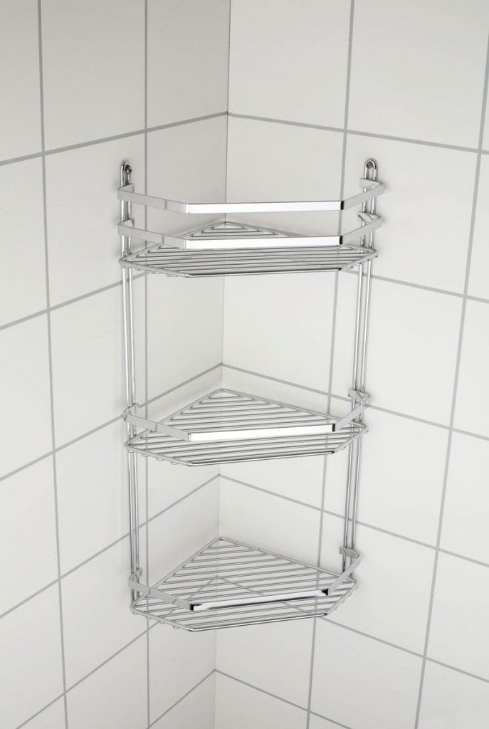 3 Tier Corner Shower Basket | Corner, Shower basket and Storage