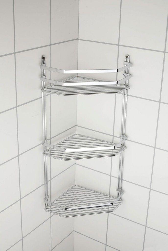 3 Tier Corner Shower Basket | Corner, Shower basket and Storage ideas