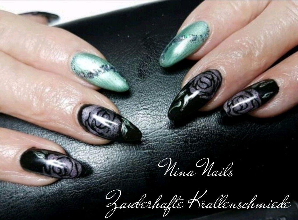 Nass in Nass Rosen | Nina Nails - Zauberhafte Krallenschmiede ...