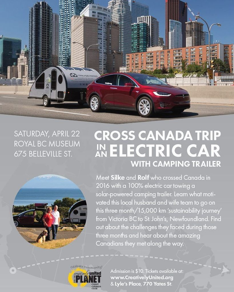 earth day special - 15000 kms cross canada trip on an electric car