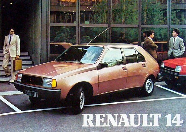 Renault 14 Klassieke Auto S Auto Vrachtwagens