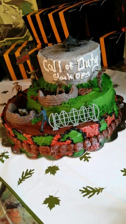 Call Of Duty Zombie With Images Call Of Duty Cakes Call Of