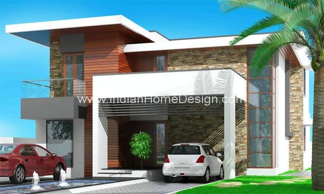 Lovely Here Is A New Contemporary Kerala Home Design From Triangle Visualizer  Designed By: Er. Part 13