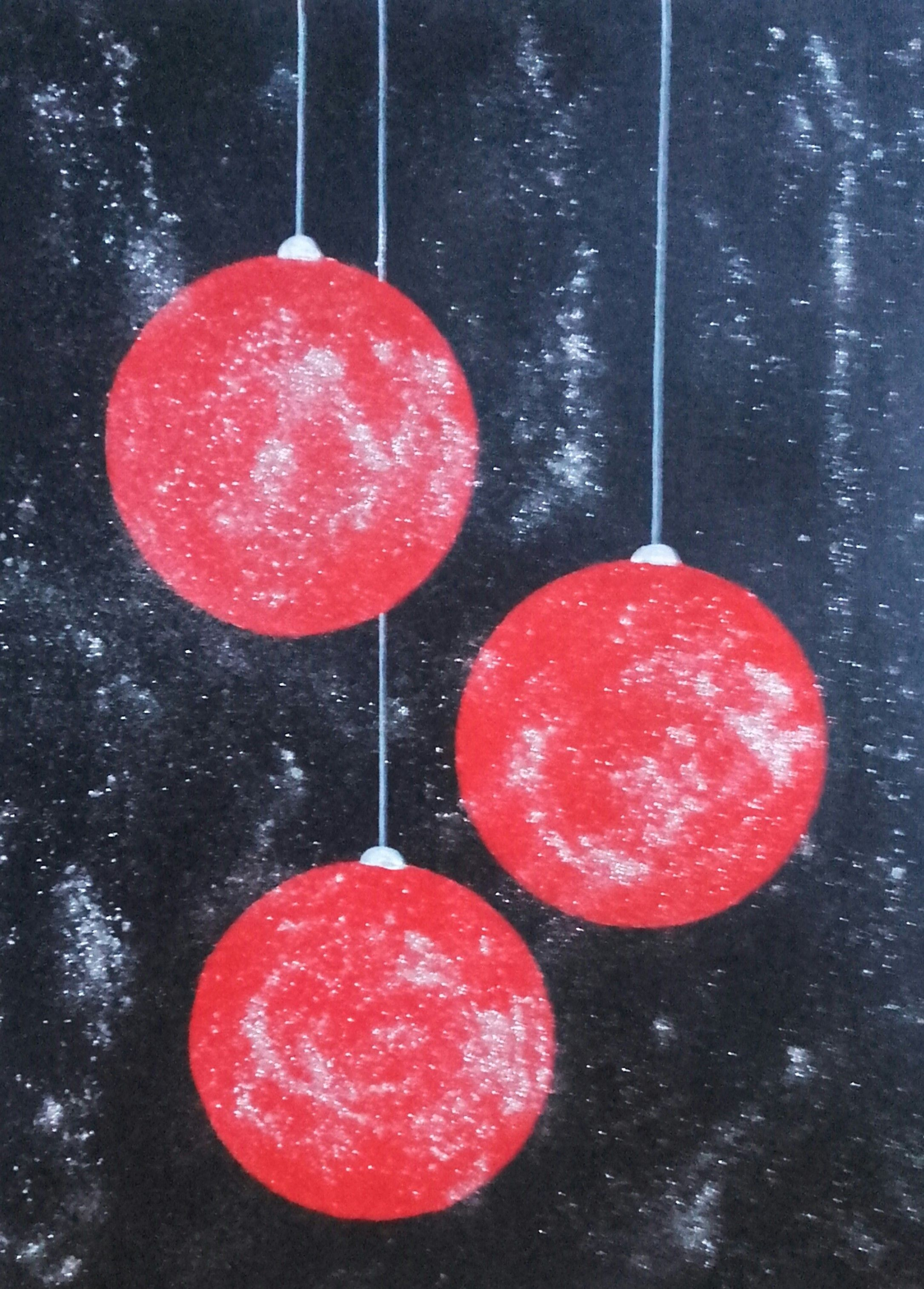 schilderij kerst