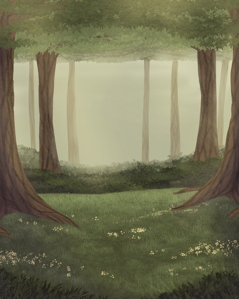 Forest Background Drawing : forest, background, drawing, Forest, Background, Practice, Acorn-Trees, Background,, Nature, Artwork,